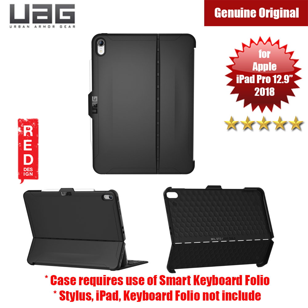 "Picture of UAG Scout Series for Apple iPad Pro 12.9"" 3rd Gen 2018 Case (Black) Apple iPad Pro 12.9 2018- Apple iPad Pro 12.9 2018 Cases, Apple iPad Pro 12.9 2018 Covers, iPad Cases and a wide selection of Apple iPad Pro 12.9 2018 Accessories in Malaysia, Sabah, Sarawak and Singapore"