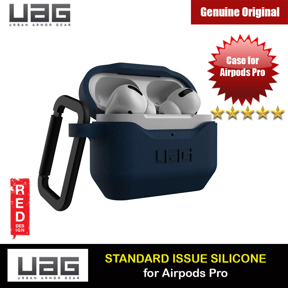 Picture of UAG Standard Issue Silicone Case with Detachable Carabiner for Airpods Pro (Mallard) Apple Airpods Pro- Apple Airpods Pro Cases, Apple Airpods Pro Covers, iPad Cases and a wide selection of Apple Airpods Pro Accessories in Malaysia, Sabah, Sarawak and Singapore