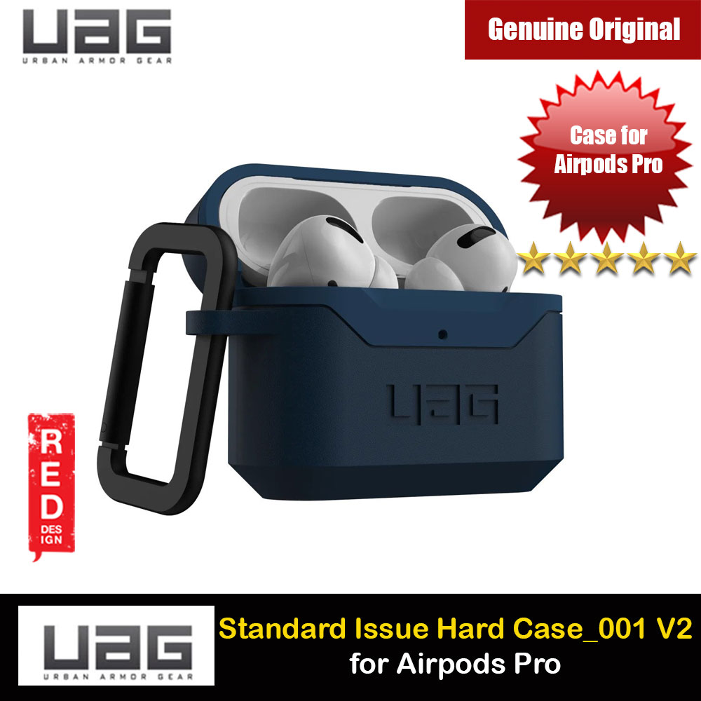 Picture of UAG Standard Issue Hard V2 Case with Detachable Carabiner for Airpods Pro (Mallard) Apple Airpods Pro- Apple Airpods Pro Cases, Apple Airpods Pro Covers, iPad Cases and a wide selection of Apple Airpods Pro Accessories in Malaysia, Sabah, Sarawak and Singapore