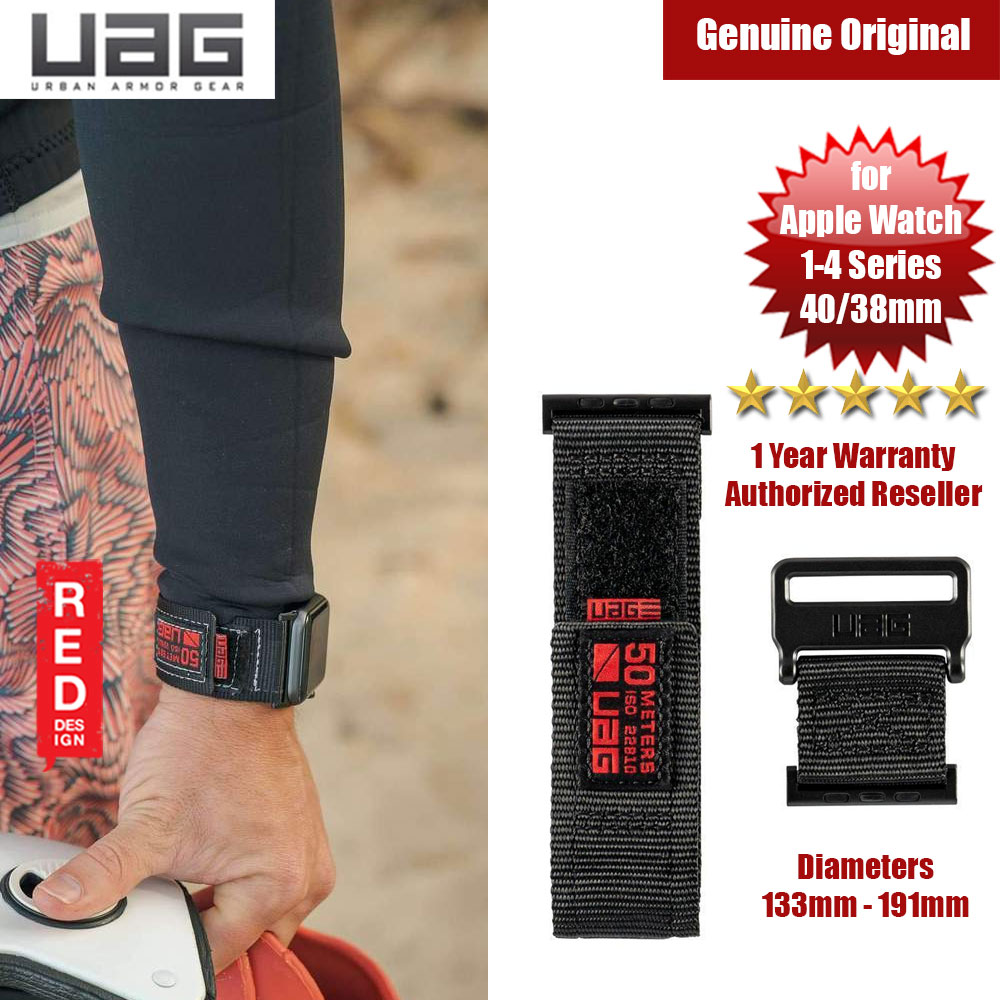 Picture of UAG Active Watch Strap for Apple Watch 38mm 40mm (Black) Apple Watch 38mm- Apple Watch 38mm Cases, Apple Watch 38mm Covers, iPad Cases and a wide selection of Apple Watch 38mm Accessories in Malaysia, Sabah, Sarawak and Singapore
