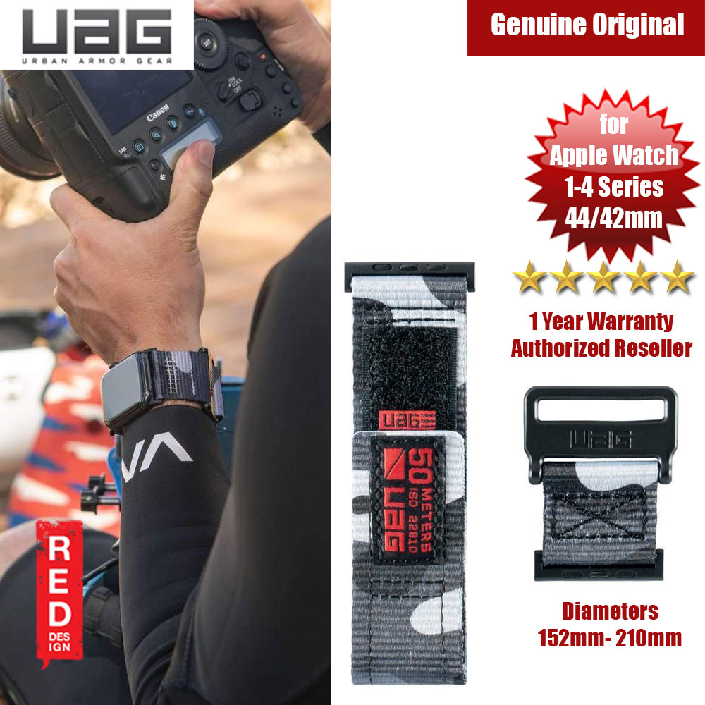 Picture of UAG Active Watch Strap for Apple Watch 42mm 44mm (Camouflage Midnight) Apple Watch 42mm- Apple Watch 42mm Cases, Apple Watch 42mm Covers, iPad Cases and a wide selection of Apple Watch 42mm Accessories in Malaysia, Sabah, Sarawak and Singapore