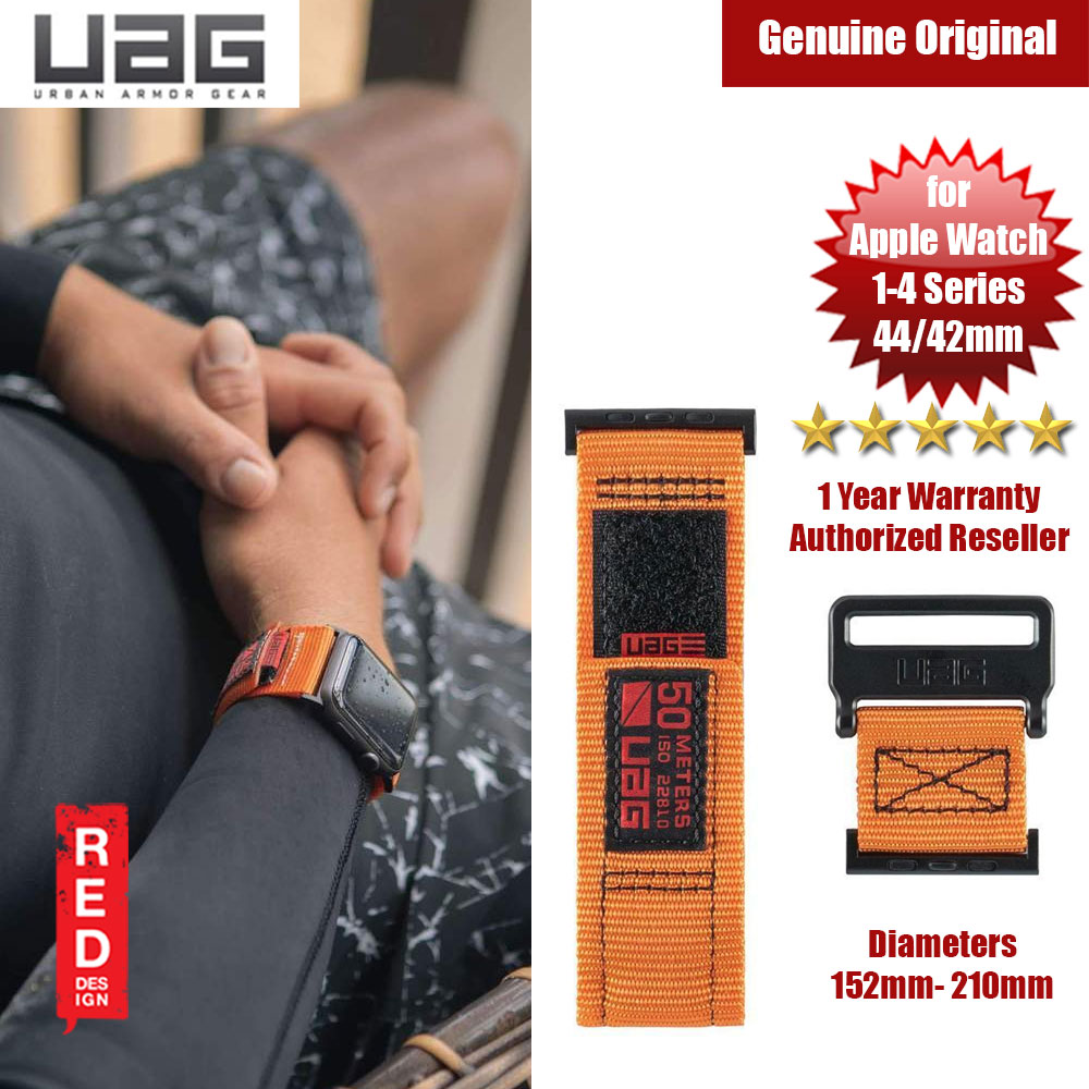 Picture of UAG Active Watch Strap for Apple Watch 42mm 44mm (Orange) Apple Watch 42mm- Apple Watch 42mm Cases, Apple Watch 42mm Covers, iPad Cases and a wide selection of Apple Watch 42mm Accessories in Malaysia, Sabah, Sarawak and Singapore