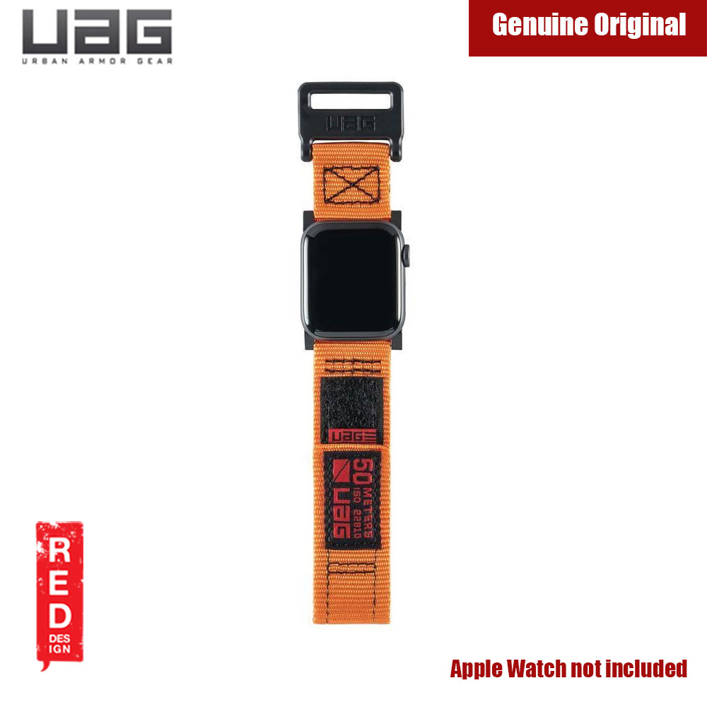 Picture of Apple Watch 42mm  | UAG Active Watch Strap for Apple Watch 42mm 44mm (Orange)