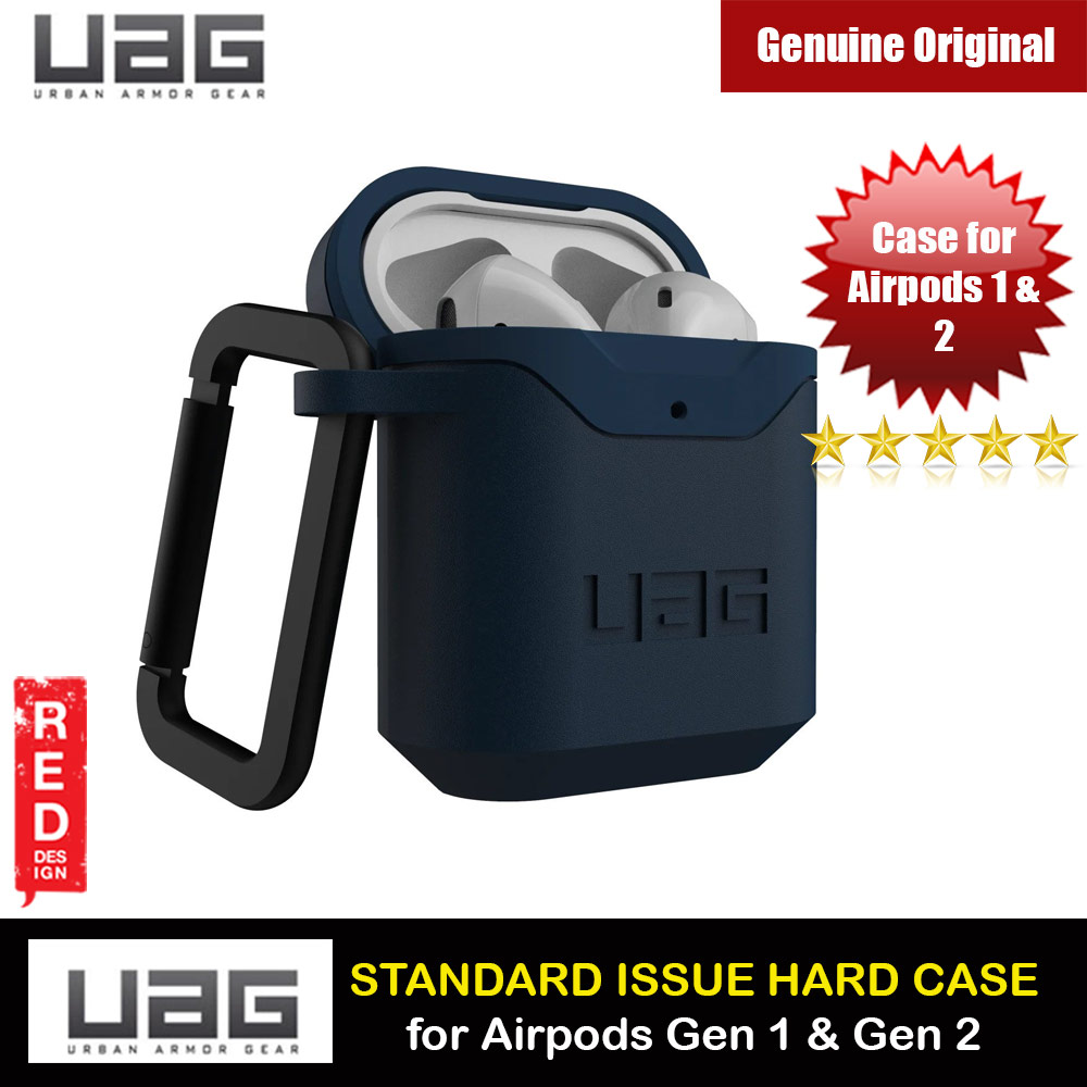 Picture of UAG Standard Issue Hard V2 Case with Detachable Carabiner for Airpods Gen 1 Airpods Gen 2 (Mallard) Apple Airpods 1- Apple Airpods 1 Cases, Apple Airpods 1 Covers, iPad Cases and a wide selection of Apple Airpods 1 Accessories in Malaysia, Sabah, Sarawak and Singapore