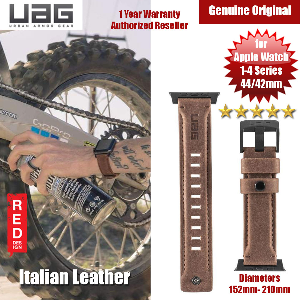 Picture of UAG Leather Watch Strap for Apple Watch 42mm 44mm (Brown) Apple Watch 42mm- Apple Watch 42mm Cases, Apple Watch 42mm Covers, iPad Cases and a wide selection of Apple Watch 42mm Accessories in Malaysia, Sabah, Sarawak and Singapore