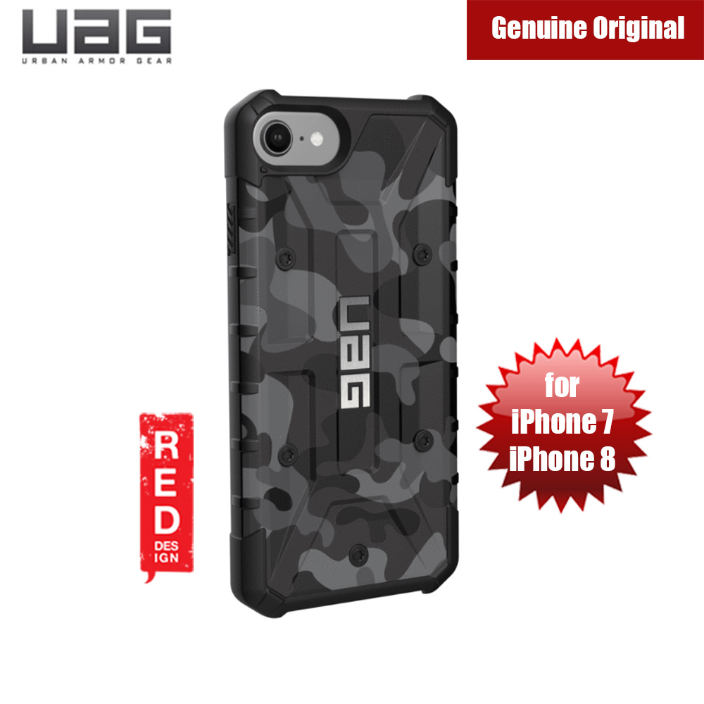 Picture of Apple iPhone 8 Case | UAG Pathfinder Camo Series Case for Apple iPhone 6s iPhone 7 iPhone 8 (Midnight)