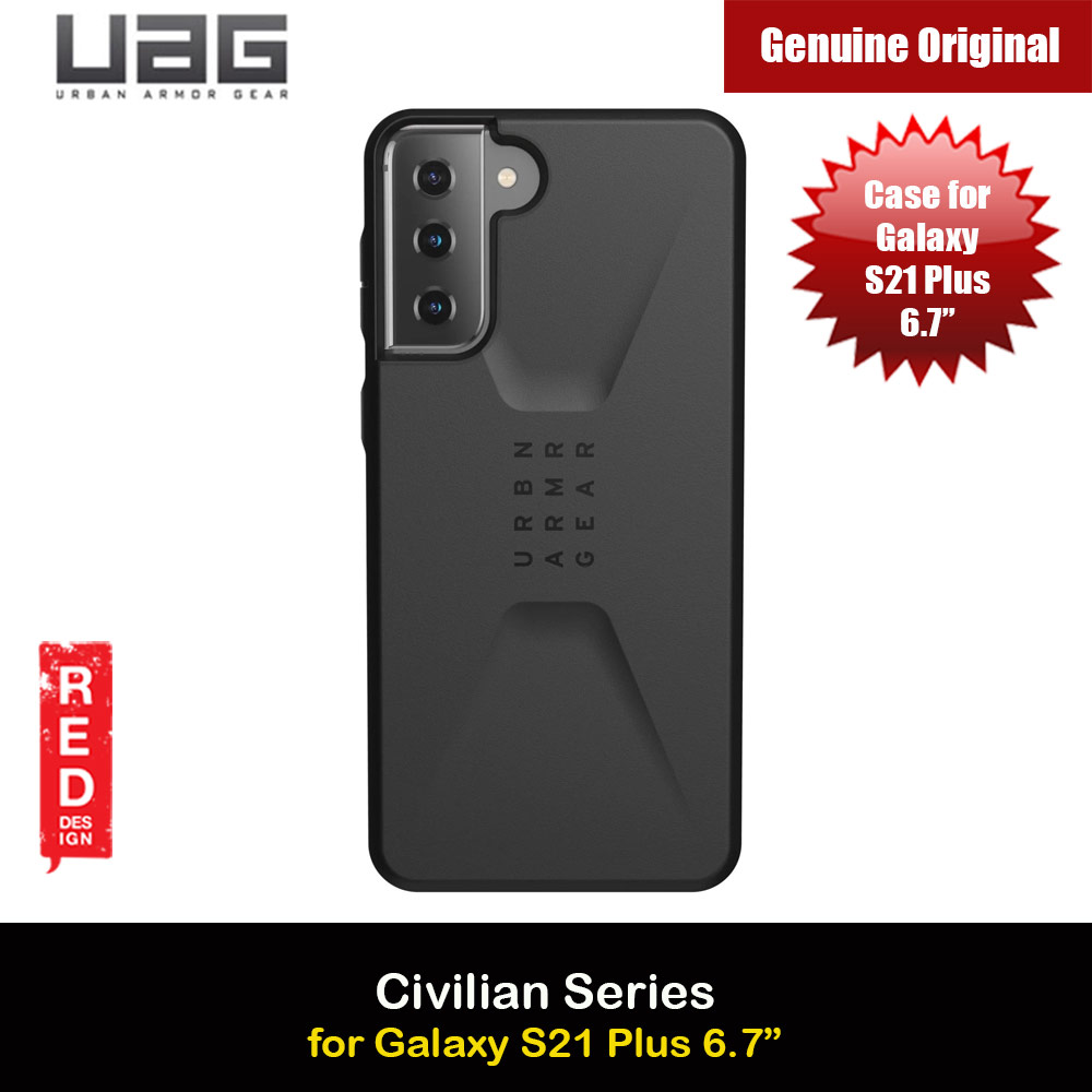 Picture of UAG Civilian Series Drop Protection Case for Samsung Galaxy S21 Plus 6.7 inches (Black) Samsung Galaxy S21 Plus 6.7- Samsung Galaxy S21 Plus 6.7 Cases, Samsung Galaxy S21 Plus 6.7 Covers, iPad Cases and a wide selection of Samsung Galaxy S21 Plus 6.7 Accessories in Malaysia, Sabah, Sarawak and Singapore