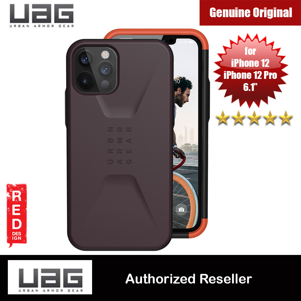 Picture of UAG Urban Armor Gear Protection Case Civilian Series for iPhone 12 iPhone 12 Pro 6.1 (Eggplant) Apple iPhone 12 6.1- Apple iPhone 12 6.1 Cases, Apple iPhone 12 6.1 Covers, iPad Cases and a wide selection of Apple iPhone 12 6.1 Accessories in Malaysia, Sabah, Sarawak and Singapore