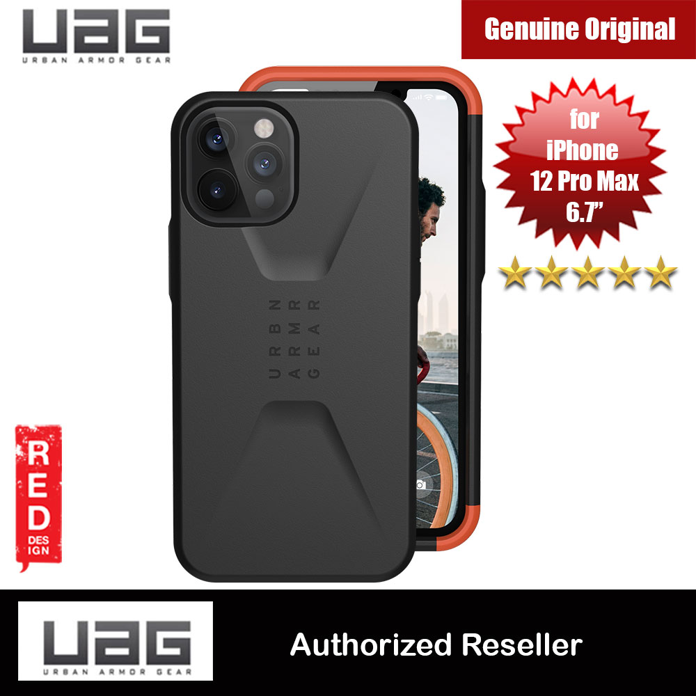 Picture of UAG Urban Armor Gear Protection Case Civilian Series for iPhone 12 Pro Max 6.7 (Black) Apple iPhone 11 Pro Max 6.5- Apple iPhone 11 Pro Max 6.5 Cases, Apple iPhone 11 Pro Max 6.5 Covers, iPad Cases and a wide selection of Apple iPhone 11 Pro Max 6.5 Accessories in Malaysia, Sabah, Sarawak and Singapore
