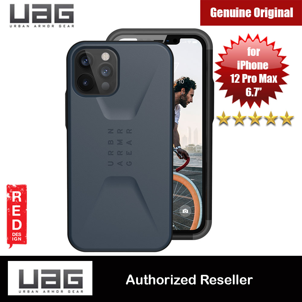 Picture of UAG Urban Armor Gear Protection Case Civilian Series for iPhone 12 Pro Max 6.7 (Mallard Blue) Apple iPhone 11 Pro Max 6.5- Apple iPhone 11 Pro Max 6.5 Cases, Apple iPhone 11 Pro Max 6.5 Covers, iPad Cases and a wide selection of Apple iPhone 11 Pro Max 6.5 Accessories in Malaysia, Sabah, Sarawak and Singapore