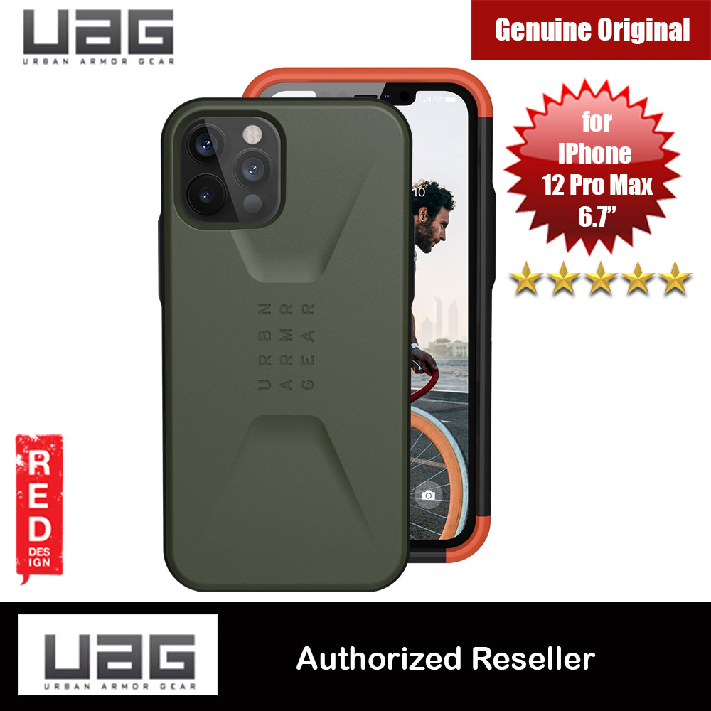 Picture of UAG Urban Armor Gear Protection Case Civilian Series for iPhone 12 Pro Max 6.7 (Olive) Apple iPhone 11 Pro Max 6.5- Apple iPhone 11 Pro Max 6.5 Cases, Apple iPhone 11 Pro Max 6.5 Covers, iPad Cases and a wide selection of Apple iPhone 11 Pro Max 6.5 Accessories in Malaysia, Sabah, Sarawak and Singapore