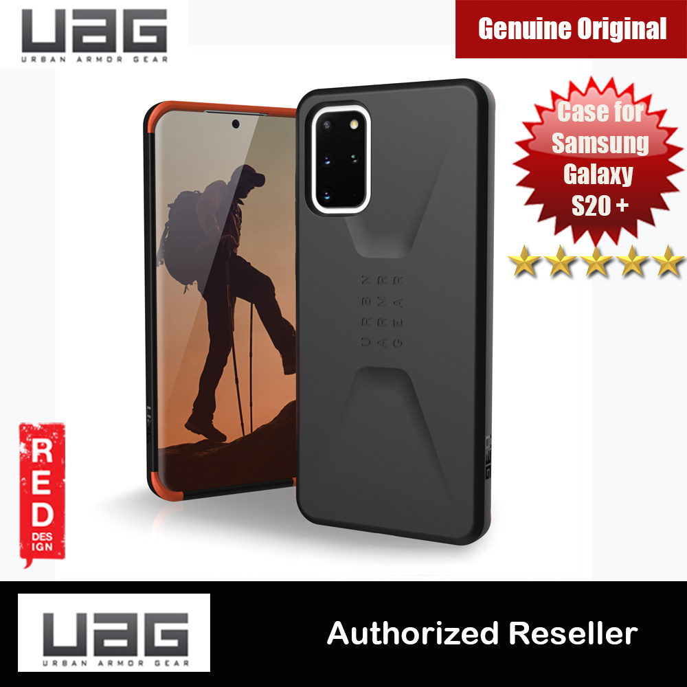 Picture of UAG Civilian Series Drop Protection Case for Samsung Galaxy S20 Plus 6.7 inches (Black) Samsung Galaxy S20 Plus 6.7- Samsung Galaxy S20 Plus 6.7 Cases, Samsung Galaxy S20 Plus 6.7 Covers, iPad Cases and a wide selection of Samsung Galaxy S20 Plus 6.7 Accessories in Malaysia, Sabah, Sarawak and Singapore