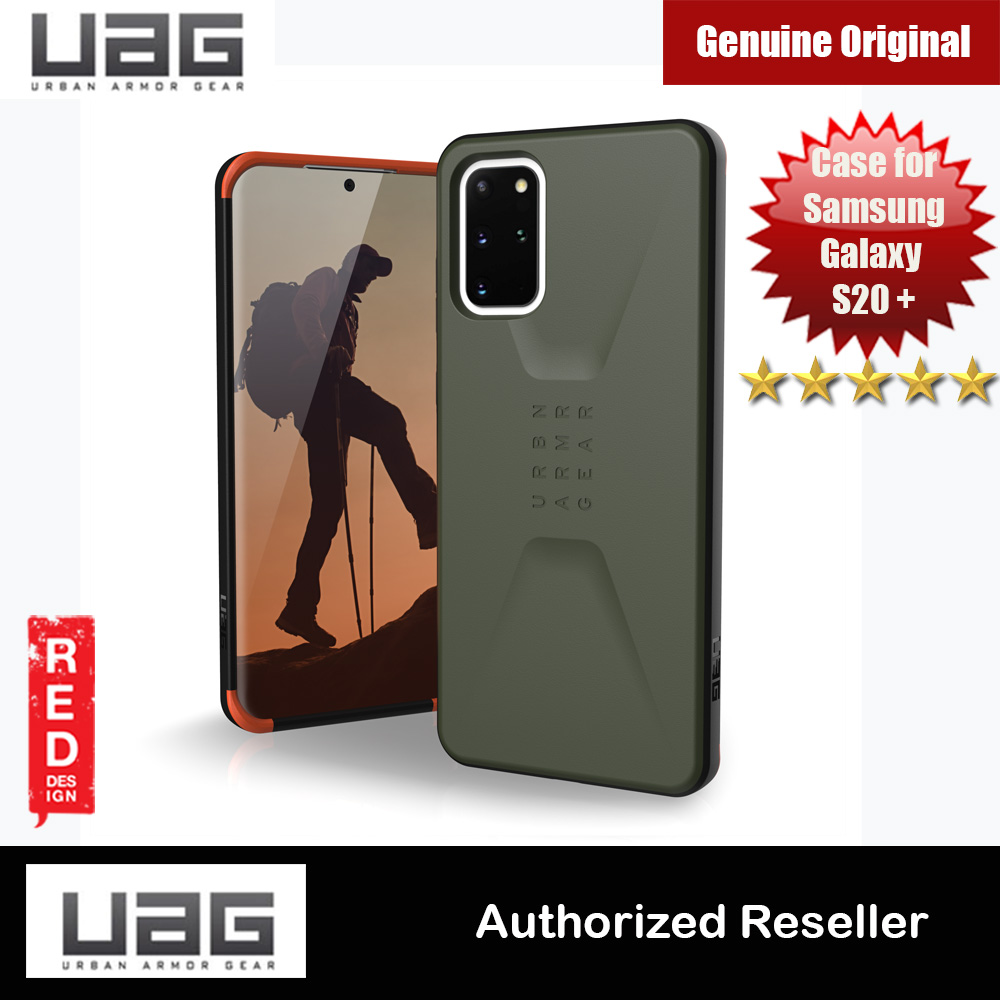 Picture of UAG Civilian Series Drop Protection Case for Samsung Galaxy S20 Plus 6.7 inches (Olive Drab) Samsung Galaxy S20 Plus 6.7- Samsung Galaxy S20 Plus 6.7 Cases, Samsung Galaxy S20 Plus 6.7 Covers, iPad Cases and a wide selection of Samsung Galaxy S20 Plus 6.7 Accessories in Malaysia, Sabah, Sarawak and Singapore