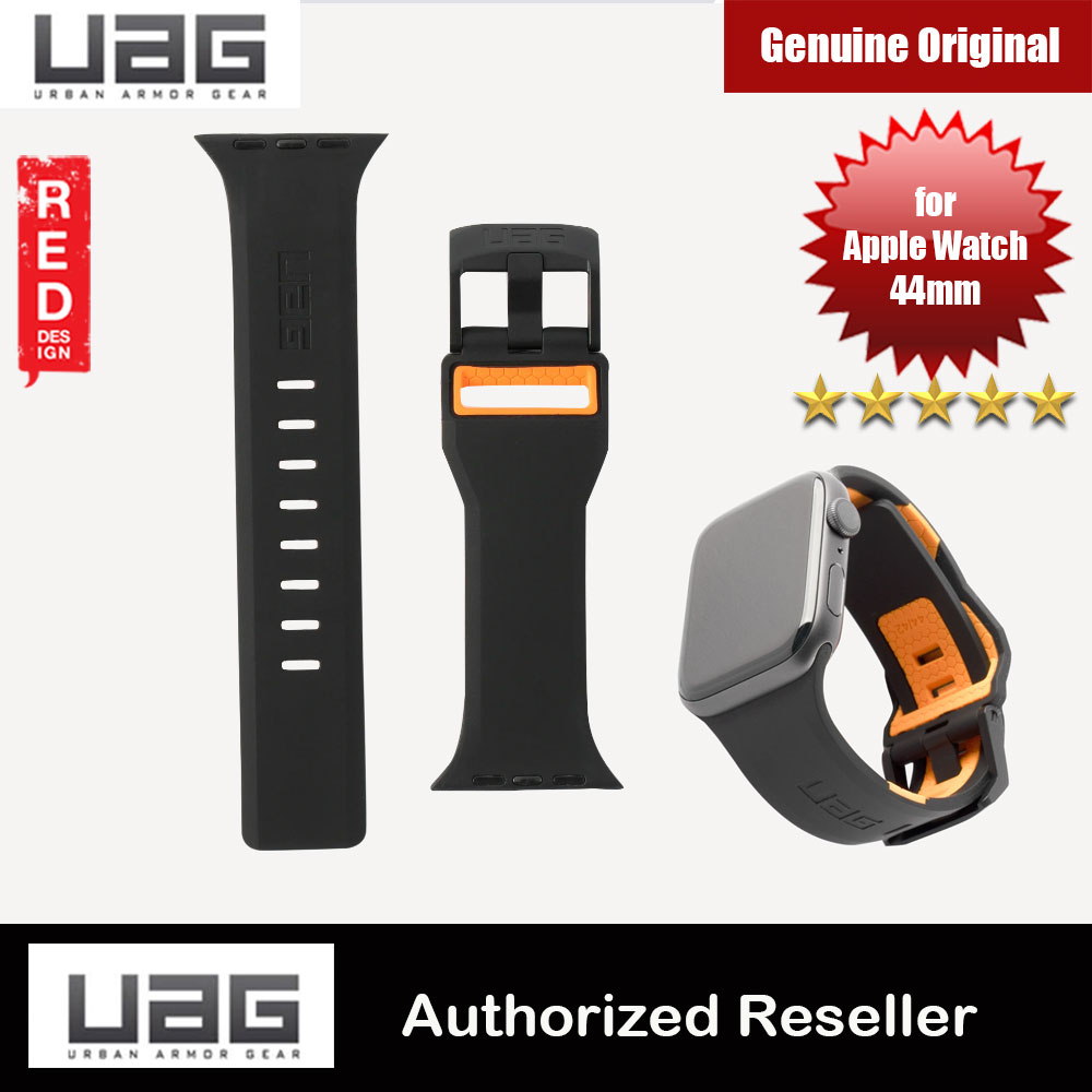 Picture of UAG Civilian Silicone Strap for Apple Watch 44mm Series 4 Series 5 Series 6 Series SE (Black Orange) Red Design- Red Design Cases, Red Design Covers, iPad Cases and a wide selection of Red Design Accessories in Malaysia, Sabah, Sarawak and Singapore