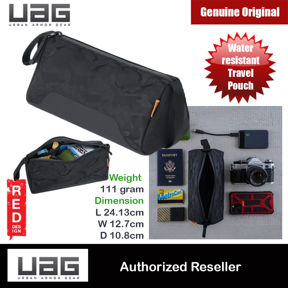 Picture of UAG DOPP KIT Compact Pouch to fit in your bag or backpack (Midnight Camo) Red Design- Red Design Cases, Red Design Covers, iPad Cases and a wide selection of Red Design Accessories in Malaysia, Sabah, Sarawak and Singapore