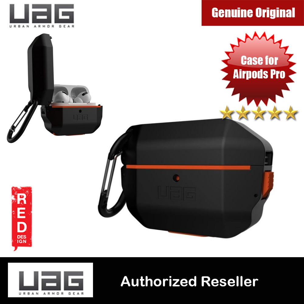 Picture of UAG Drop Protection Hard Case with Carabiner for Airpods Pro (Black) Apple Airpods Pro- Apple Airpods Pro Cases, Apple Airpods Pro Covers, iPad Cases and a wide selection of Apple Airpods Pro Accessories in Malaysia, Sabah, Sarawak and Singapore