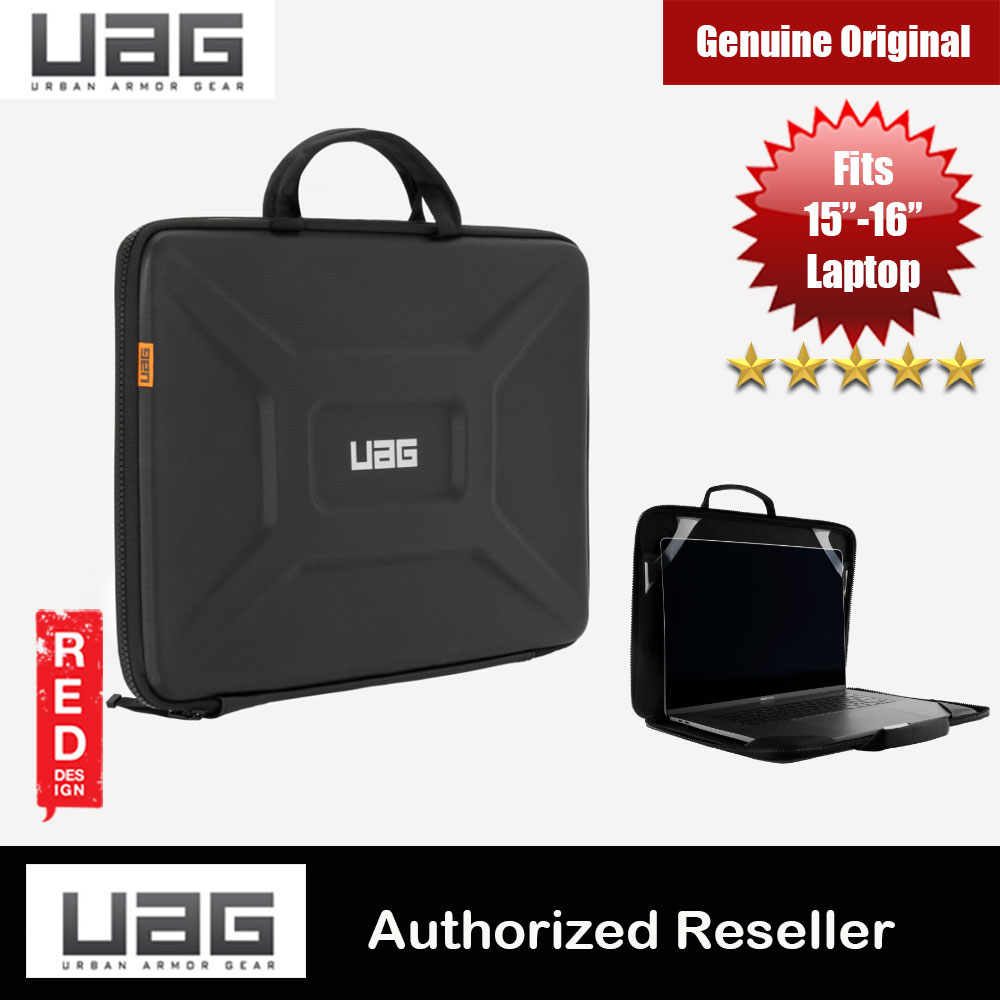 "Picture of UAG Large Sleeve Laptop Sleeve with Handle fit up to 15 inches 16 inches Laptop Macbook Macbook Air Retina 16 Macbook Pro 16 Two Thunderbolt 3 Port Macbook Pro 16 Four Thunderbolt 3 Port (Black) Apple MacBook Pro 15"" 2016- Apple MacBook Pro 15\"" 2016 Cases, Apple MacBook Pro 15\"" 2016 Covers, iPad Cases and a wide selection of Apple MacBook Pro 15\"" 2016 Accessories in Malaysia, Sabah, Sarawak and Singapore"