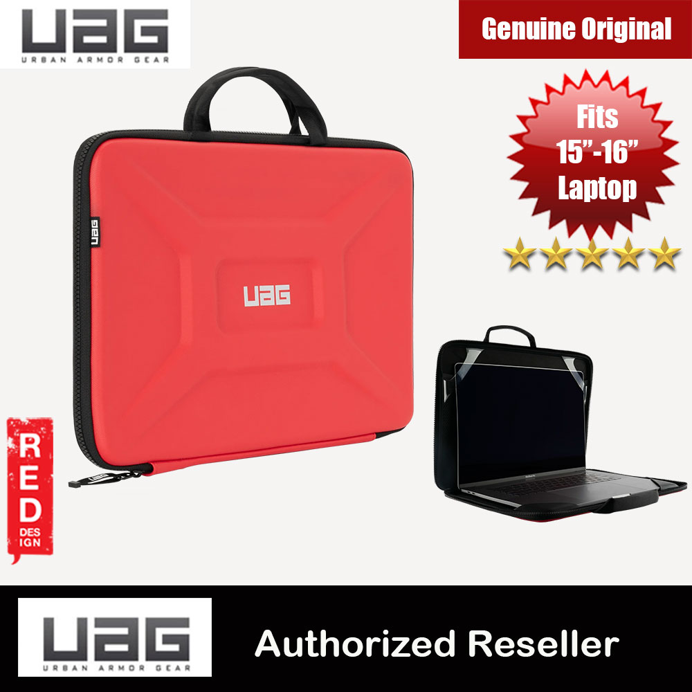 "Picture of UAG Large Sleeve Laptop Sleeve with Handle fit up to 15 inches 16 inches Laptop Macbook Macbook Air Retina 16 Macbook Pro 16 Two Thunderbolt 3 Port Macbook Pro 16 Four Thunderbolt 3 Port (Magma) Apple MacBook Pro 15"" 2016- Apple MacBook Pro 15\"" 2016 Cases, Apple MacBook Pro 15\"" 2016 Covers, iPad Cases and a wide selection of Apple MacBook Pro 15\"" 2016 Accessories in Malaysia, Sabah, Sarawak and Singapore"