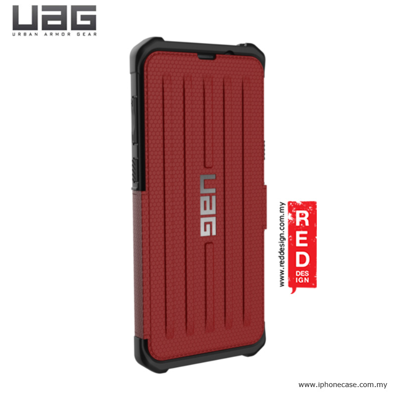 Picture of Samsung Galaxy S8 Plus Case | UAG Metropolis Series Military Grade Protection Case for Samsung Galaxy S8 Plus - Magma Red