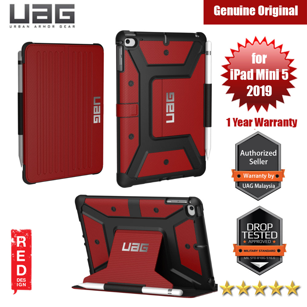 Picture of UAG Metropolis Protection Case for Apple iPad Mini 5 2019 (Magma Red) Apple iPad Mini 5 2019- Apple iPad Mini 5 2019 Cases, Apple iPad Mini 5 2019 Covers, iPad Cases and a wide selection of Apple iPad Mini 5 2019 Accessories in Malaysia, Sabah, Sarawak and Singapore
