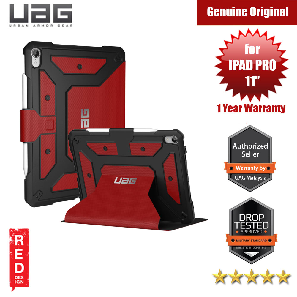 Picture of UAG Metropolis Protection Case for Apple iPad Pro 11.0 2018 (Magma Red) Apple iPad Pro 11.0 2018- Apple iPad Pro 11.0 2018 Cases, Apple iPad Pro 11.0 2018 Covers, iPad Cases and a wide selection of Apple iPad Pro 11.0 2018 Accessories in Malaysia, Sabah, Sarawak and Singapore