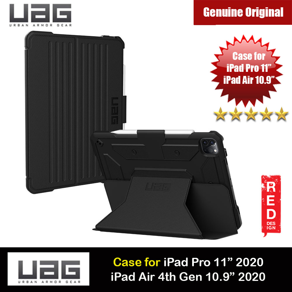 Picture of UAG Metropolis Protection Flip and Standable Case for Apple iPad Pro 11 2nd 2020  (Black) Apple iPad Pro 11 2nd gen 2020- Apple iPad Pro 11 2nd gen 2020 Cases, Apple iPad Pro 11 2nd gen 2020 Covers, iPad Cases and a wide selection of Apple iPad Pro 11 2nd gen 2020 Accessories in Malaysia, Sabah, Sarawak and Singapore