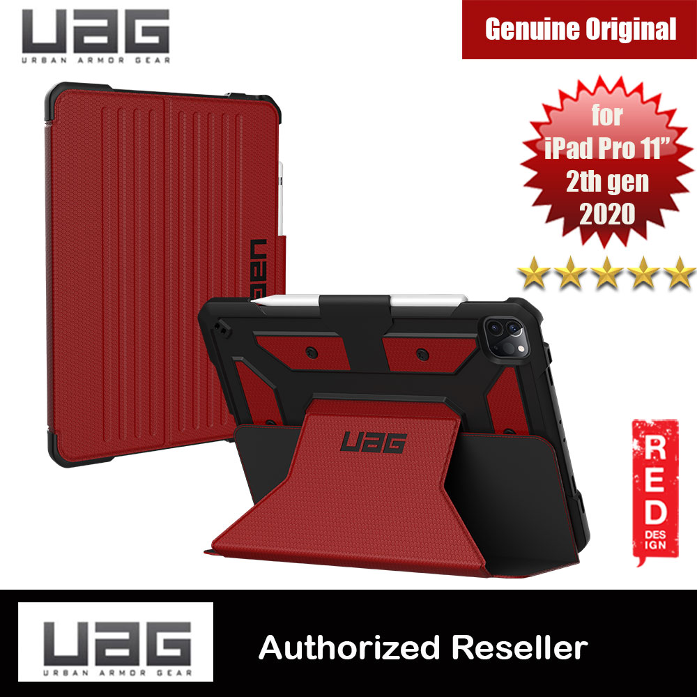 Picture of UAG Metropolis Protection Flip and Standable Case for Apple iPad Pro 11 2nd 2020  (Magma Red) Apple iPad Pro 11 2nd gen 2020- Apple iPad Pro 11 2nd gen 2020 Cases, Apple iPad Pro 11 2nd gen 2020 Covers, iPad Cases and a wide selection of Apple iPad Pro 11 2nd gen 2020 Accessories in Malaysia, Sabah, Sarawak and Singapore