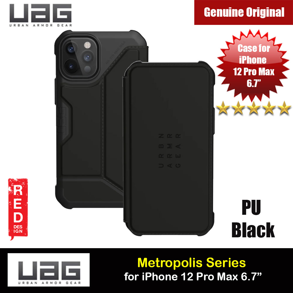 Picture of UAG Urban Armor Gear Protection Flip Cover Card Storage Case Metropolis Series for iPhone 12 Pro Max 6.7 (Kevlar Black) Apple iPhone 12 Pro Max 6.7- Apple iPhone 12 Pro Max 6.7 Cases, Apple iPhone 12 Pro Max 6.7 Covers, iPad Cases and a wide selection of Apple iPhone 12 Pro Max 6.7 Accessories in Malaysia, Sabah, Sarawak and Singapore
