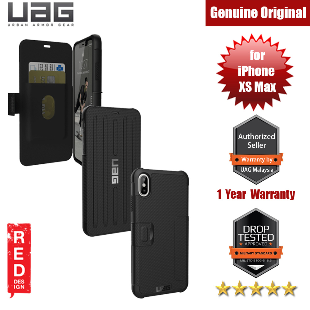 Picture of UAG Metropolis Series Protection Case for Apple iPhone XS Max (Black) Apple iPhone XS Max- Apple iPhone XS Max Cases, Apple iPhone XS Max Covers, iPad Cases and a wide selection of Apple iPhone XS Max Accessories in Malaysia, Sabah, Sarawak and Singapore