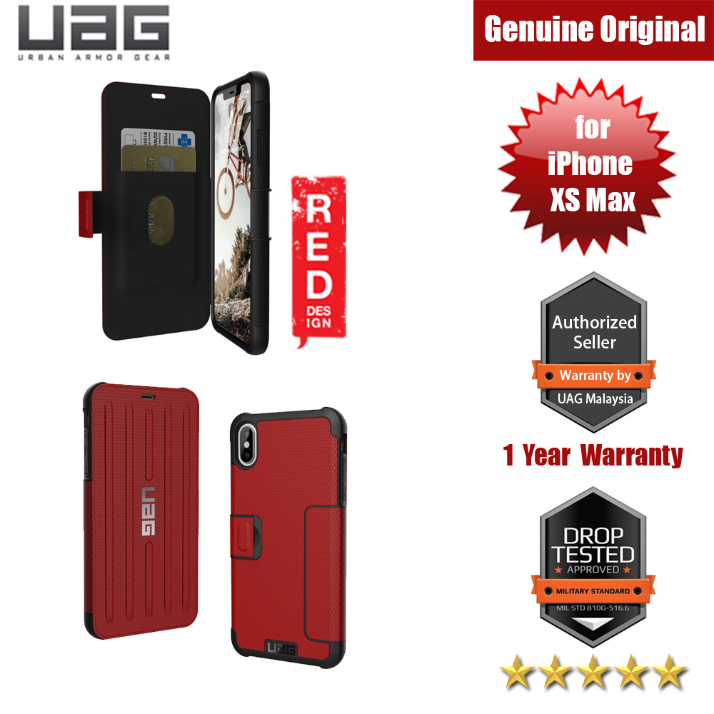 Picture of UAG Metropolis Series Protection Case for Apple iPhone XS Max (Magma Red) Apple iPhone XS Max- Apple iPhone XS Max Cases, Apple iPhone XS Max Covers, iPad Cases and a wide selection of Apple iPhone XS Max Accessories in Malaysia, Sabah, Sarawak and Singapore