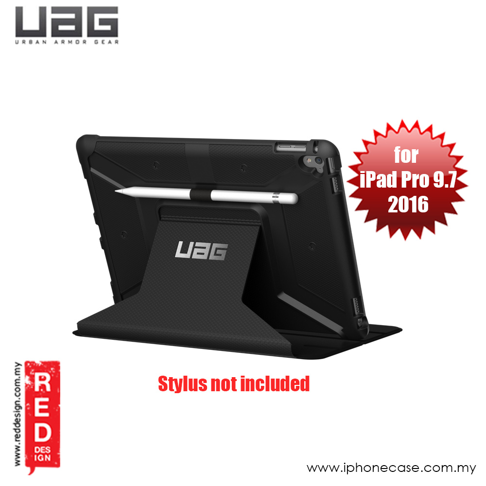 Picture of UAG Rugged and Lightweight Metropolis Protection Case for Apple iPad Pro 9.7 2016 - Black Apple iPad Pro 9.7- Apple iPad Pro 9.7 Cases, Apple iPad Pro 9.7 Covers, iPad Cases and a wide selection of Apple iPad Pro 9.7 Accessories in Malaysia, Sabah, Sarawak and Singapore