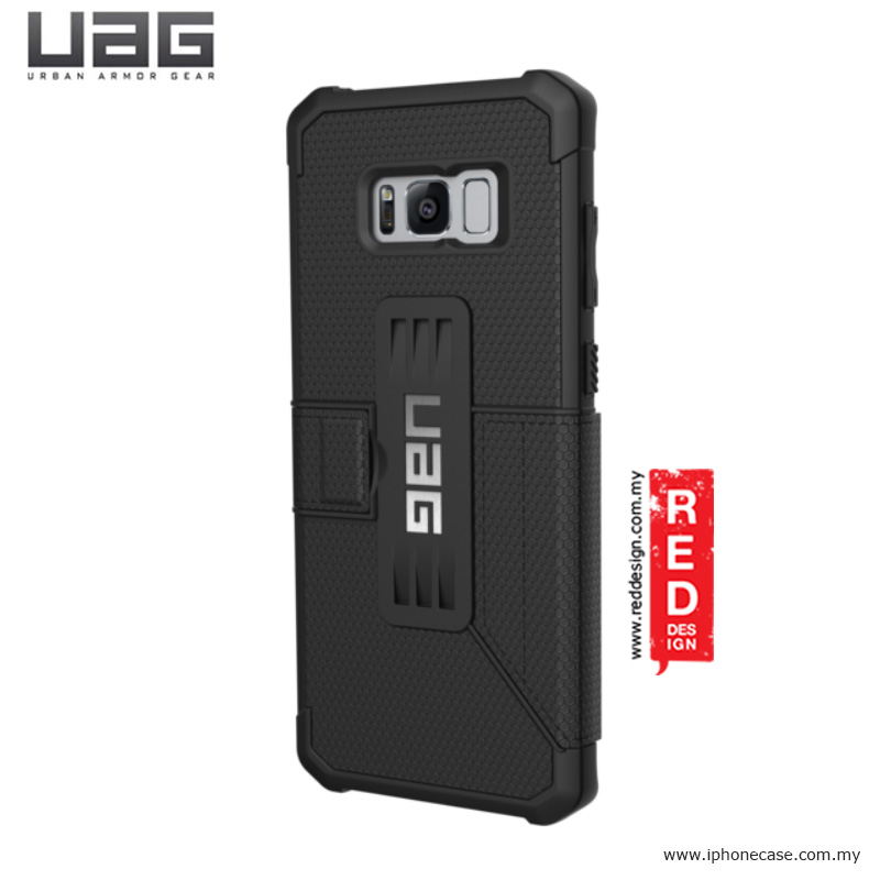 Picture of Samsung Galaxy S8 Plus Case | UAG Metropolis Series Military Grade Protection Case for Samsung Galaxy S8 Plus - Black