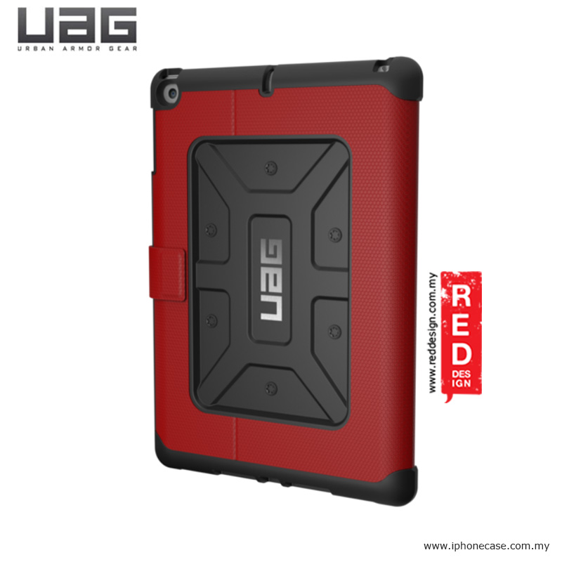 Picture of Apple iPad 9.7 2017 Case | UAG Rugged and Lightweight Metropolis Protection Case for Apple iPad 9.7 2017 iPad Air - red