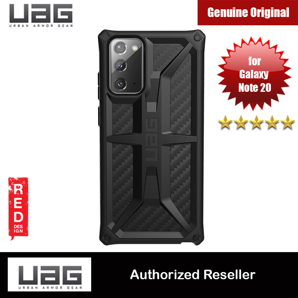 Picture of UAG Urban Armor Gear Protection Case Monarch Series for Samsung Galaxy Note 20 6.7 (Carbon Fiber) Samsung Galaxy Note 20- Samsung Galaxy Note 20 Cases, Samsung Galaxy Note 20 Covers, iPad Cases and a wide selection of Samsung Galaxy Note 20 Accessories in Malaysia, Sabah, Sarawak and Singapore