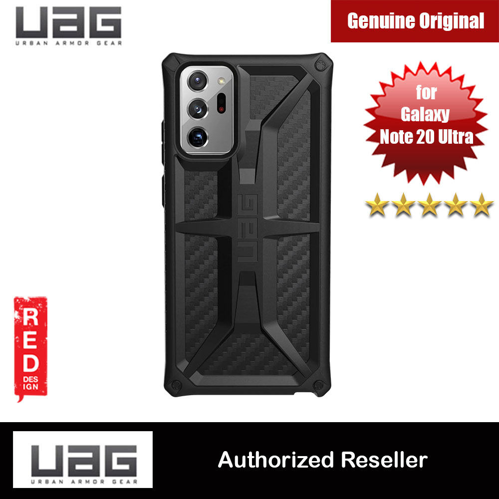 Picture of UAG Urban Armor Gear Protection Case Monarch Series for Samsung Galaxy Note 20 Ultra 6.9 (Carbon Fiber) Samsung Galaxy Note 20 Ultra- Samsung Galaxy Note 20 Ultra Cases, Samsung Galaxy Note 20 Ultra Covers, iPad Cases and a wide selection of Samsung Galaxy Note 20 Ultra Accessories in Malaysia, Sabah, Sarawak and Singapore