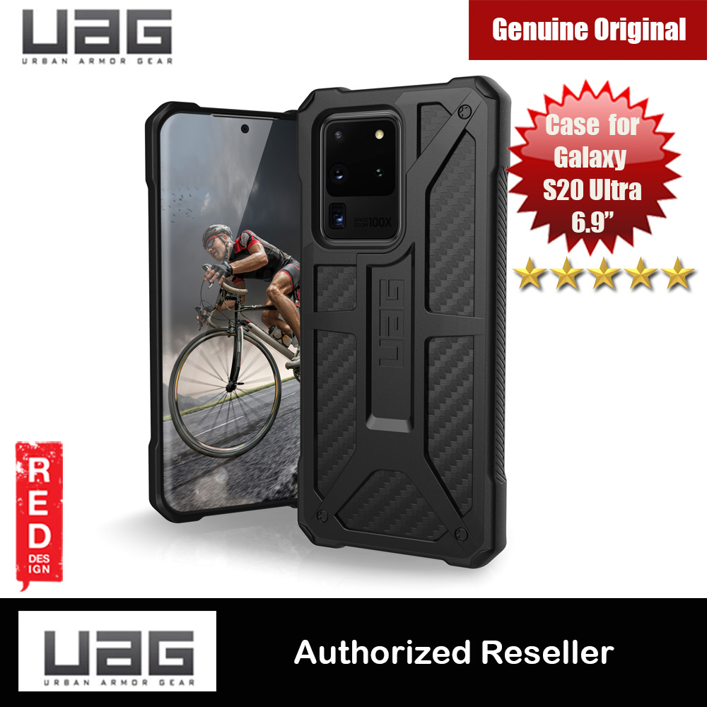 Picture of UAG Monarch Series Drop Protection Case for Samsung Galaxy S20 Ultra 6.9 inches (Carbon Fiber) Samsung Galaxy S20 Ultra 6.9- Samsung Galaxy S20 Ultra 6.9 Cases, Samsung Galaxy S20 Ultra 6.9 Covers, iPad Cases and a wide selection of Samsung Galaxy S20 Ultra 6.9 Accessories in Malaysia, Sabah, Sarawak and Singapore