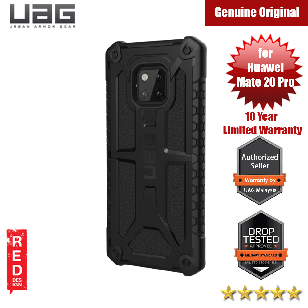 Picture of UAG Monarch Series Protection Case for Huawei Mate 20 Pro (Black) Huawei Mate 20 Pro- Huawei Mate 20 Pro Cases, Huawei Mate 20 Pro Covers, iPad Cases and a wide selection of Huawei Mate 20 Pro Accessories in Malaysia, Sabah, Sarawak and Singapore