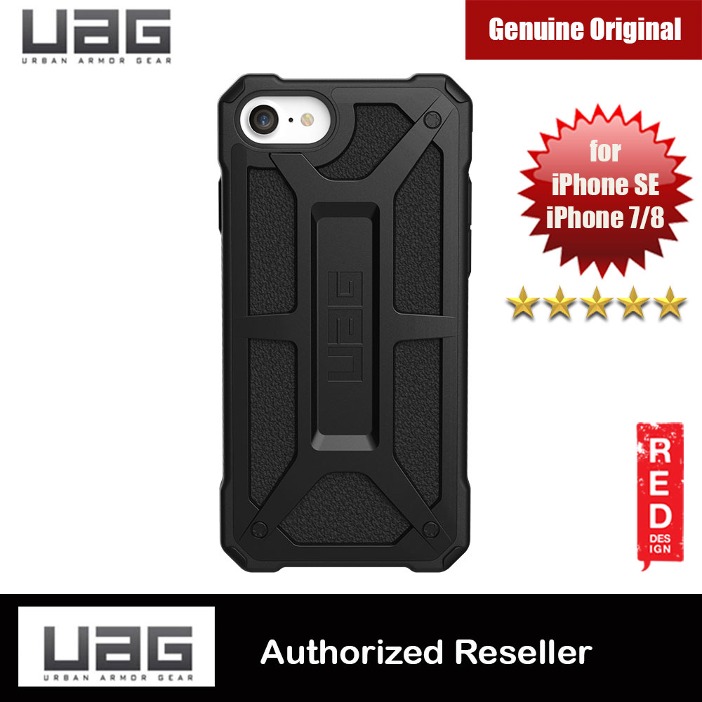 Picture of UAG Monarch Series Protection Case for Apple iPhone SE 2020 iPhone 7 iPhone 8 (Black) Apple iPhone 7 4.7- Apple iPhone 7 4.7 Cases, Apple iPhone 7 4.7 Covers, iPad Cases and a wide selection of Apple iPhone 7 4.7 Accessories in Malaysia, Sabah, Sarawak and Singapore