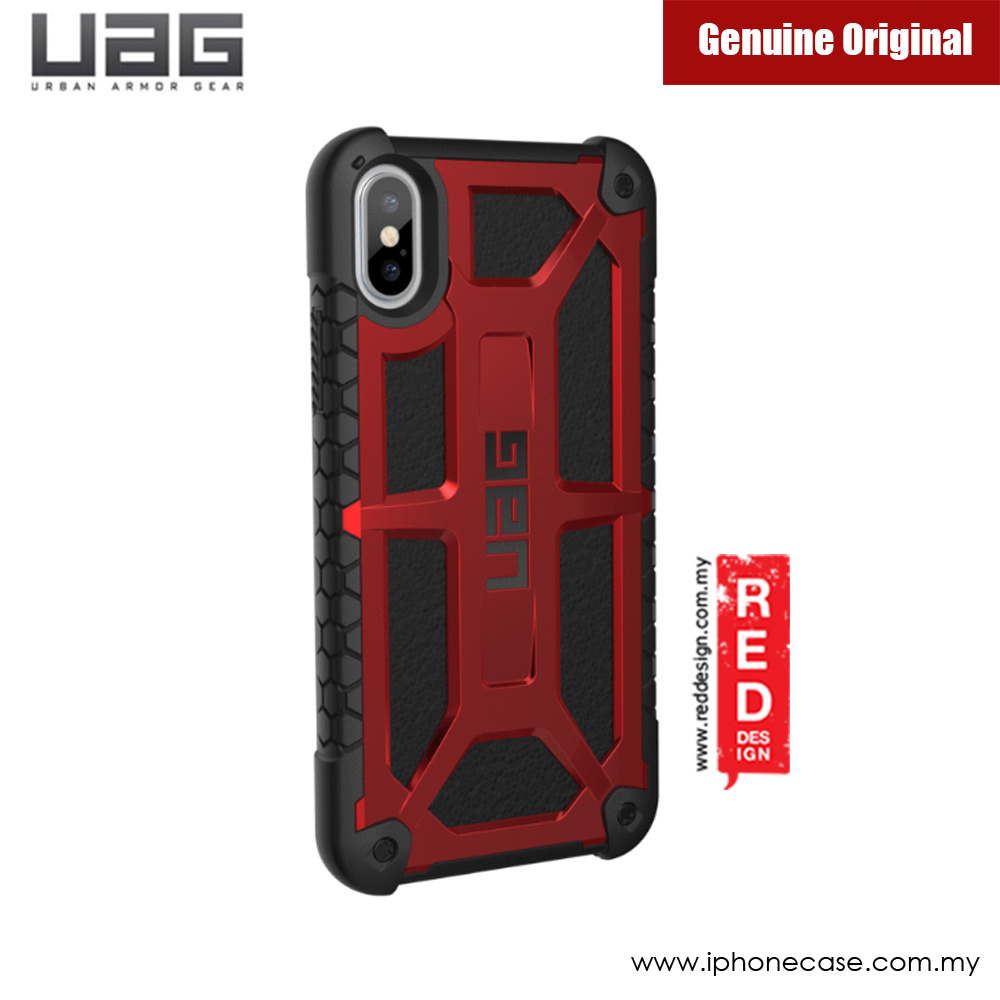 Picture of Apple iPhone X Case | UAG Monarch Series Case for Apple iPhone X (Crimson Red)