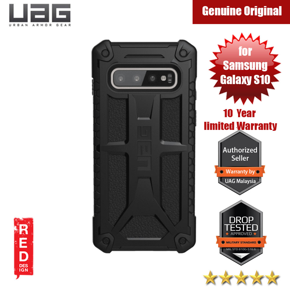 Picture of UAG Monarch Series for Samsung Galaxy S10 (Black) Samsung Galaxy S10- Samsung Galaxy S10 Cases, Samsung Galaxy S10 Covers, iPad Cases and a wide selection of Samsung Galaxy S10 Accessories in Malaysia, Sabah, Sarawak and Singapore
