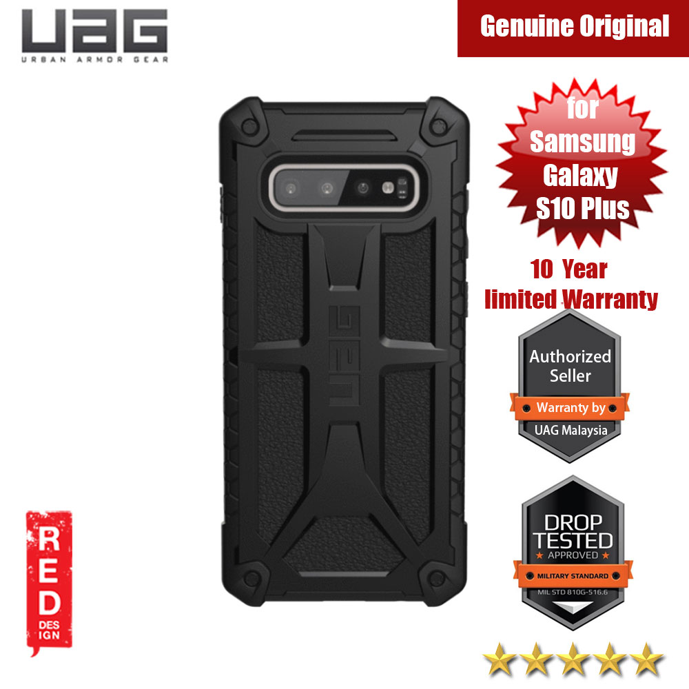 Picture of UAG Monarch Series for Samsung Galaxy S10 Plus (Black) Samsung Galaxy S10 Plus- Samsung Galaxy S10 Plus Cases, Samsung Galaxy S10 Plus Covers, iPad Cases and a wide selection of Samsung Galaxy S10 Plus Accessories in Malaysia, Sabah, Sarawak and Singapore