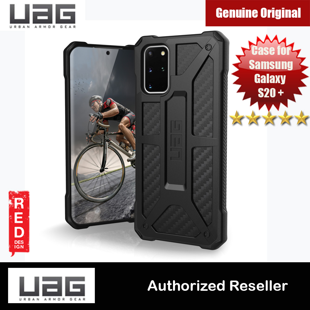 Picture of UAG Monarch Series Drop Protection Case for Samsung Galaxy S20 Plus 6.7 inches (Carbon Fiber) Samsung Galaxy S20 Plus 6.7- Samsung Galaxy S20 Plus 6.7 Cases, Samsung Galaxy S20 Plus 6.7 Covers, iPad Cases and a wide selection of Samsung Galaxy S20 Plus 6.7 Accessories in Malaysia, Sabah, Sarawak and Singapore