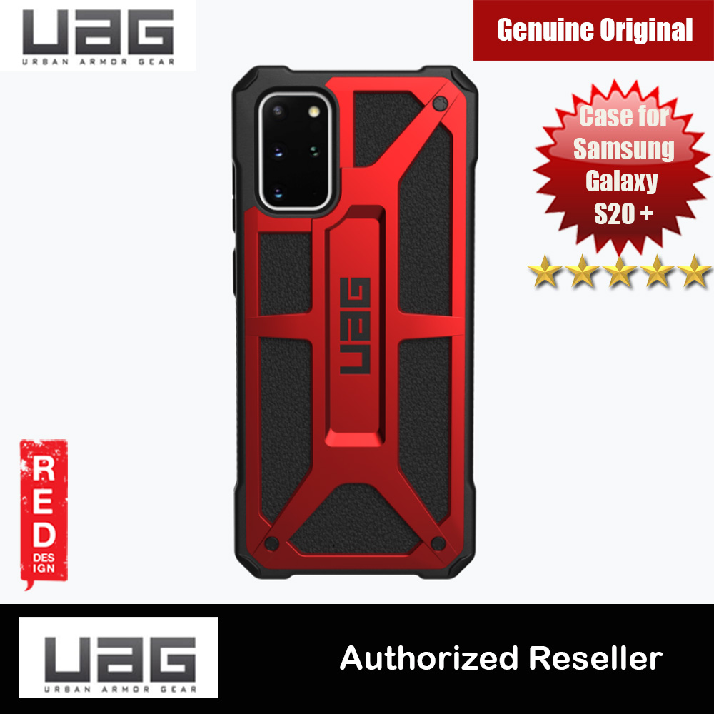 Picture of UAG Monarch Series Drop Protection Case for Samsung Galaxy S20 Plus 6.7 inches (Crimson Red) Samsung Galaxy S20 Plus 6.7- Samsung Galaxy S20 Plus 6.7 Cases, Samsung Galaxy S20 Plus 6.7 Covers, iPad Cases and a wide selection of Samsung Galaxy S20 Plus 6.7 Accessories in Malaysia, Sabah, Sarawak and Singapore