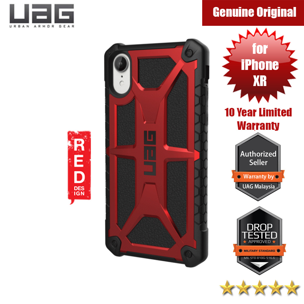 Picture of UAG Monarch Series Protection Case for Apple iPhone XR (Crimson Red) Apple iPhone XR- Apple iPhone XR Cases, Apple iPhone XR Covers, iPad Cases and a wide selection of Apple iPhone XR Accessories in Malaysia, Sabah, Sarawak and Singapore