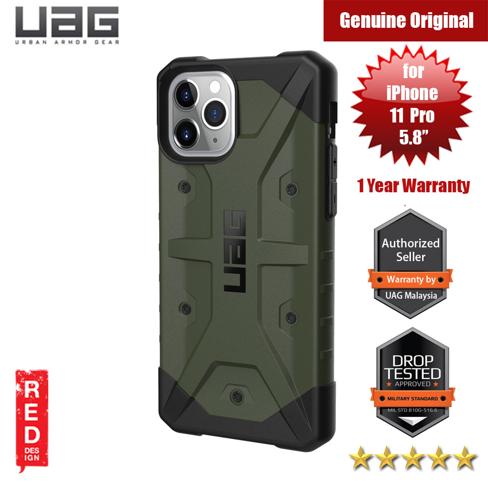 Picture of UAG Pathfinder Drop Protection Case for Apple iPhone 11 Pro 5.8 (Olive Drab) Apple iPhone 11 Pro 5.8- Apple iPhone 11 Pro 5.8 Cases, Apple iPhone 11 Pro 5.8 Covers, iPad Cases and a wide selection of Apple iPhone 11 Pro 5.8 Accessories in Malaysia, Sabah, Sarawak and Singapore