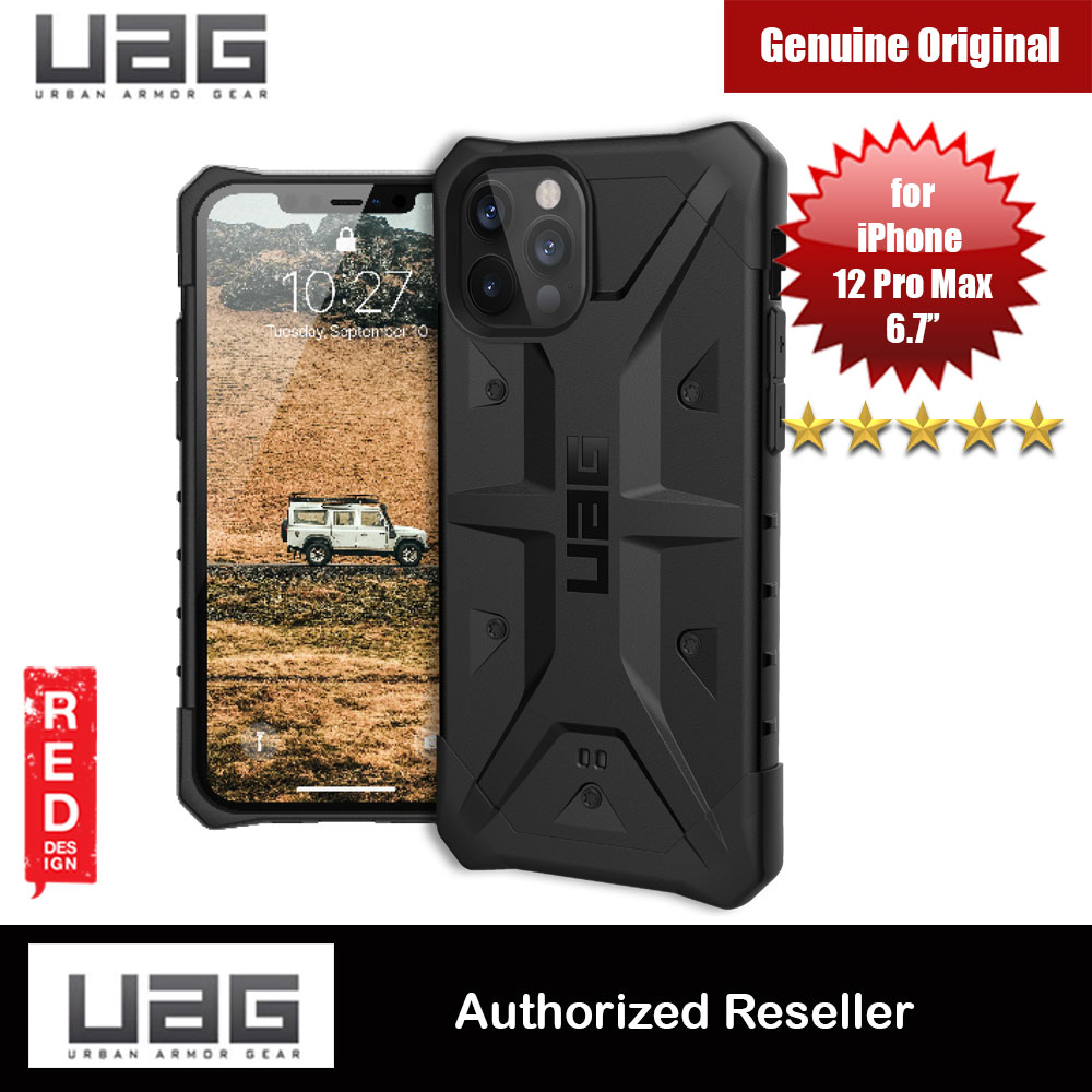 Picture of UAG Urban Armor Gear Protection Case Pathfinder Series for iPhone 12 Pro Max 6.7 (Black) Apple iPhone 12 Pro Max 6.7- Apple iPhone 12 Pro Max 6.7 Cases, Apple iPhone 12 Pro Max 6.7 Covers, iPad Cases and a wide selection of Apple iPhone 12 Pro Max 6.7 Accessories in Malaysia, Sabah, Sarawak and Singapore