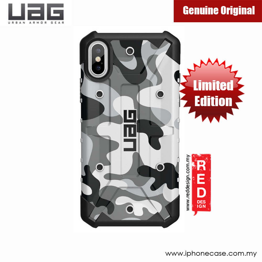 Picture of Apple iPhone X Case | UAG Pathfinder Camo Series Case for Apple iPhone X (White)