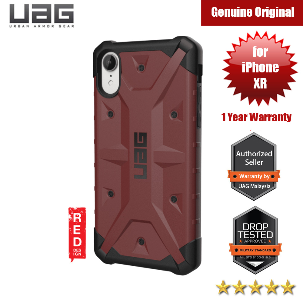 Picture of UAG Pathfinder Series Protection Case for Apple iPhone XR (Carmine) Apple iPhone XR- Apple iPhone XR Cases, Apple iPhone XR Covers, iPad Cases and a wide selection of Apple iPhone XR Accessories in Malaysia, Sabah, Sarawak and Singapore