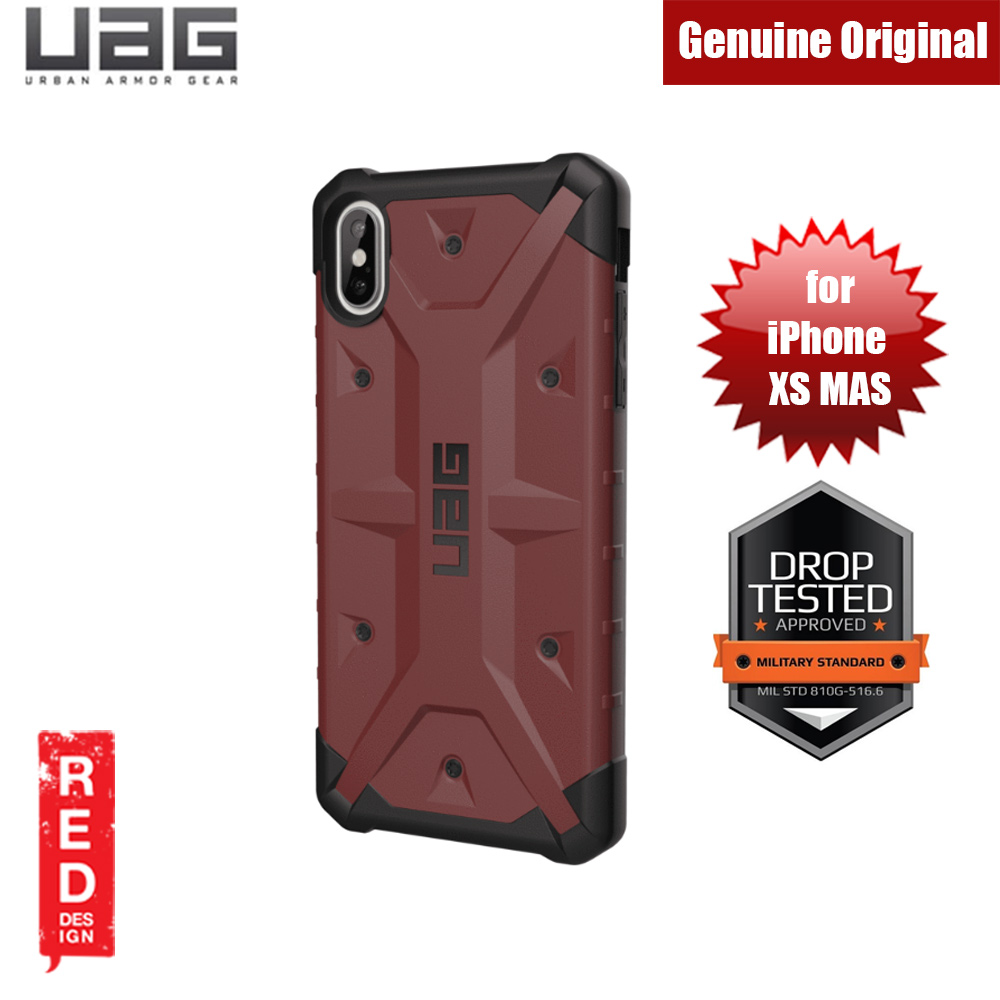 Picture of UAG Pathfinder Series Protection Case for Apple iPhone XS Max (Carmine) Apple iPhone XS Max- Apple iPhone XS Max Cases, Apple iPhone XS Max Covers, iPad Cases and a wide selection of Apple iPhone XS Max Accessories in Malaysia, Sabah, Sarawak and Singapore