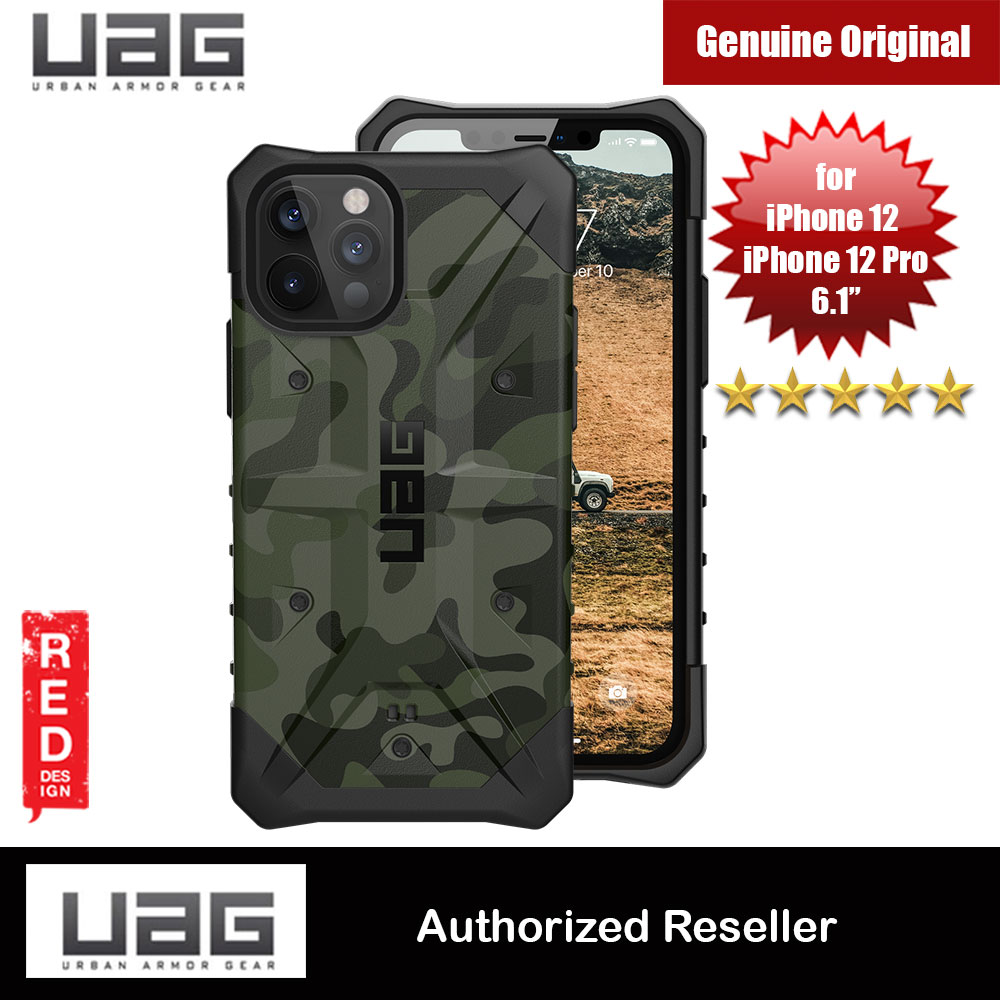 Picture of UAG Urban Armor Gear Protection Case Pathfinder SE Series for iPhone 12 iPhone 12 Pro 6.1 (Forest Camo) Apple iPhone 12 6.1- Apple iPhone 12 6.1 Cases, Apple iPhone 12 6.1 Covers, iPad Cases and a wide selection of Apple iPhone 12 6.1 Accessories in Malaysia, Sabah, Sarawak and Singapore